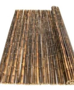 Bamboemat zwart
